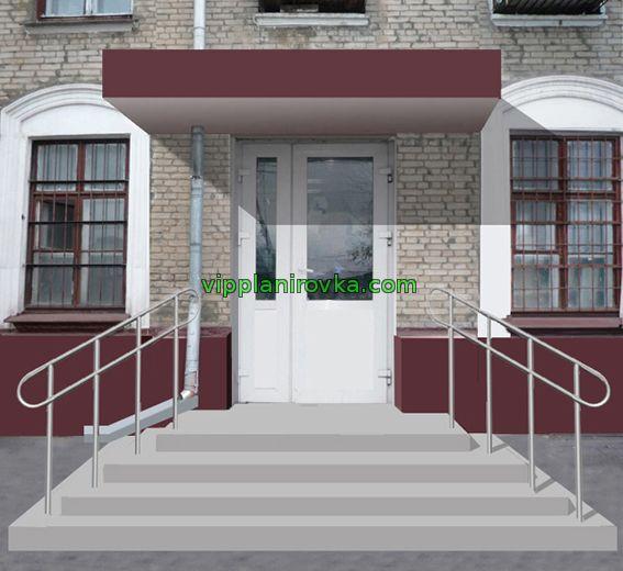 Как сделать отдельный вход в помещении